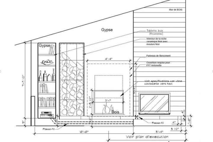 Foyer façade maison
